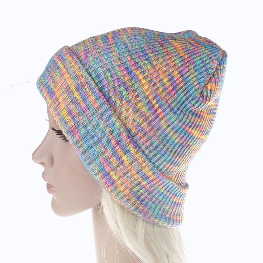 snowshine YLI Unisex Slouchy Knitting Beanie Hip Hop Cap Warm Winter Ski Hat
