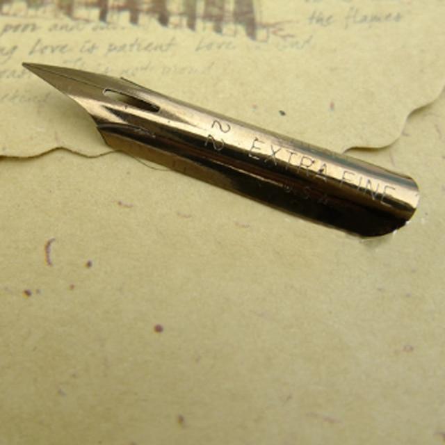 obliquo pen  10 pezzi per un sacco in acciaio inox obliquo calligrafia ...