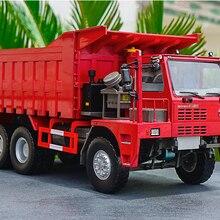 Коллекционная модель игрушки из сплава подарок 1:24 Масштаб SinoTruk HOWO 70 T сверхмощный карьерный самосвал строительные транспортные средства литье под давлением модель
