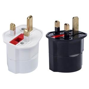 Image 5 - Rdxone EU Euro 2 Pin to UK 3 Pin Power Converter Plugs adapter AC plug Adapter Travel Converter European 250V 16A