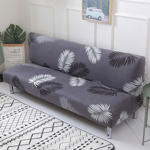 Image 1 - Printed flower sofa bed cover foldding elastic slipcovers cheap Couch cover stretch furniture covers single seat sofa cover