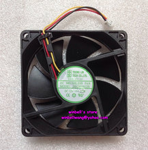 Brand new and original YOUNG LIN 8020 8CM cahssis fan DFC802012H 12V 2.8W 3wires ,in stock ~(China)