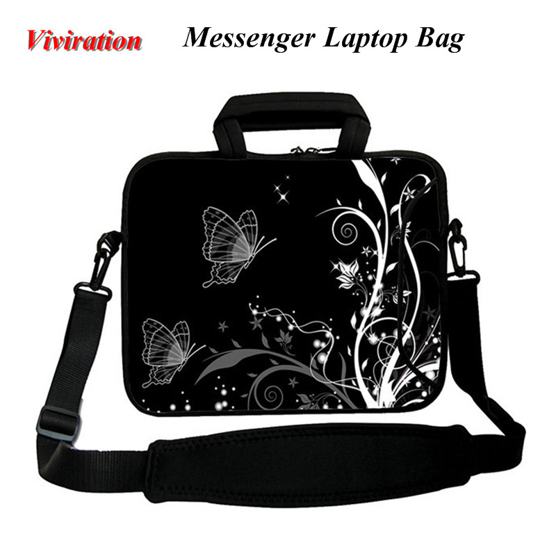 2018 Latest Women Briefcase Shoulder Strap Bag Viviration Sleeve Zipper Handbag Case 17 17.3 16.8 17.4 Inch Messenger Laptop Bag