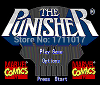 The Punisher Sega Mega Drive For Genesis 1