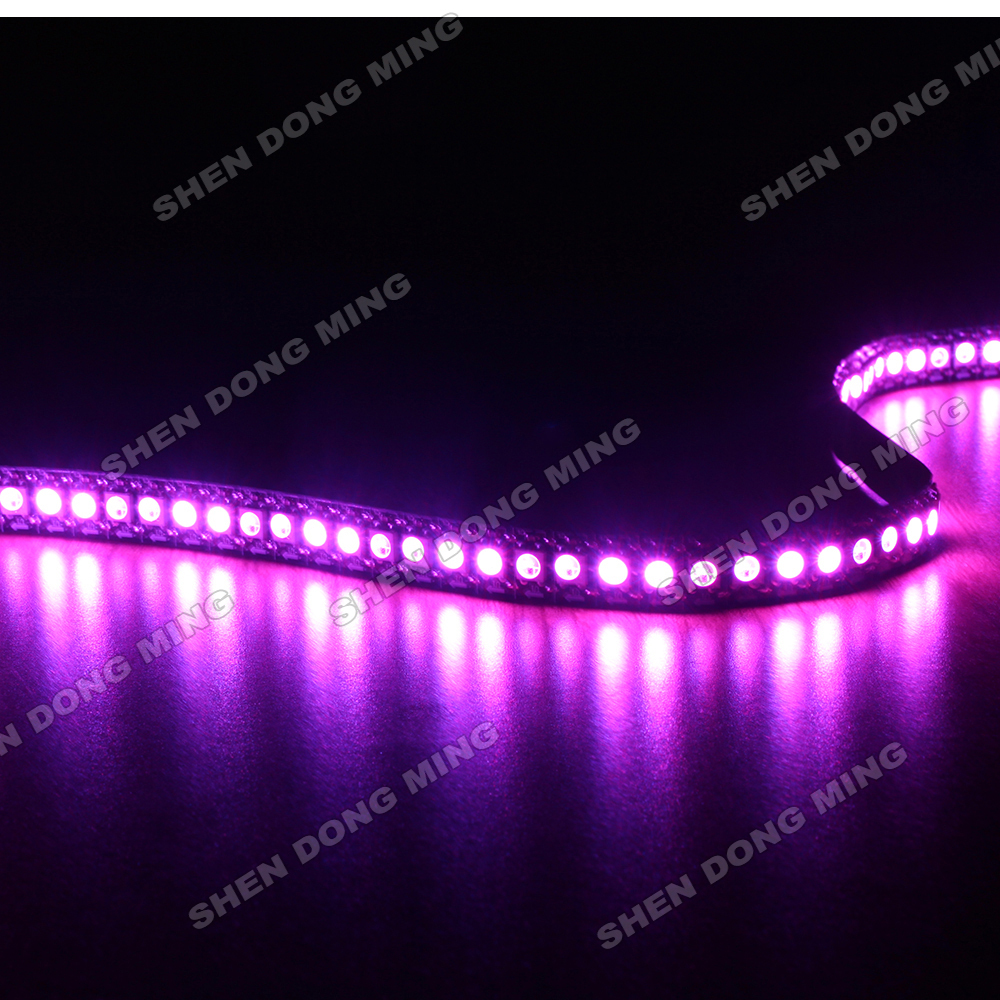 1M PCB WS2812 RGB led strip digital 144led/m built-in IC pixel led diode tape car Home Party Holiday Festival Decoration