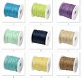 Waxed Cotton Cord 1MM Waxed Thread Cord String Strap 100Yards/Spool Necklace Rope DIY jewelry making for shamballa bead Bracelet