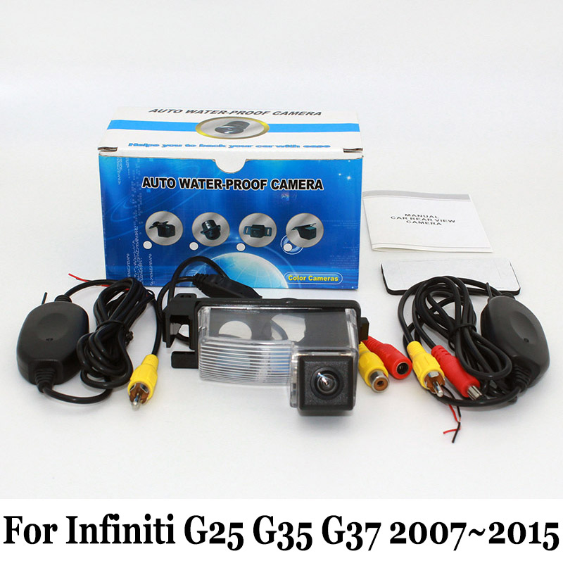 For Infiniti G25 G35 G37 2007~2015 / RCA AUX Wired Or ... on