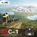 X5C-1 2.4G Dron Aviões RC Quadcopter com Câmera de 2MP HD Controle Remoto Profissional Zangão Helicóptero Quadcopter
