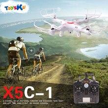 X5C-1 2.4G Dron RC Uçaklar 2MP HD Kamera Uzaktan Kumanda ile Quadcopter Drone Profesyonel Helikopter Quadcopter