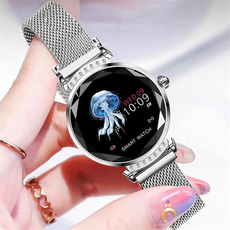 Lige mulheres smartwatch fitness rastreador pulseira monitor de freqüência cardíaca menstruação lembrete masculino relógio inteligente dia dos namorados presente senhora