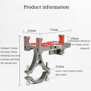 Image 5 - URANT Aluminium Motorfiets Telefoon Houder Voor iPhone Ondersteuning Moto GPS Fiets Stuur Houders met 360 Graden Roterende