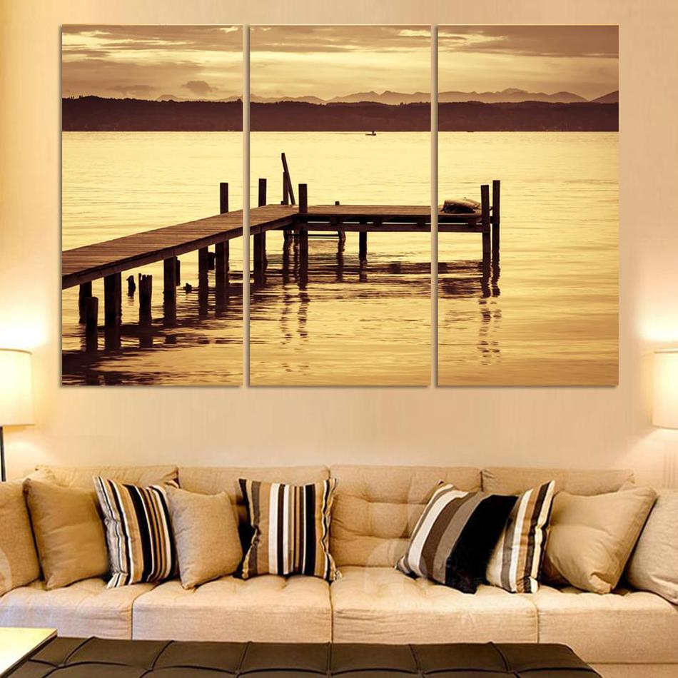 ᐂModern Wall Art Home Decoration Printed Painting Pictures No Frame ...