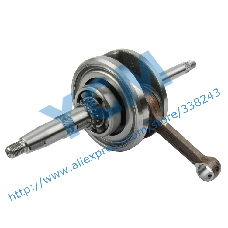 High Quality Crankshaft GY6 125 150cc Scooter Engine Crankshaft 152QMI 157QMJ Spare Parts YCM Drop Shipping high quality crankshaft gy6 125 150cc scooter engine crankshaft 152qmi 157qmj spare parts ycm drop shipping