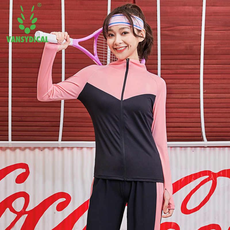 С капюшоном Для женщин куртка для бега отверстие для большого пальца Йога Спортивная куртка на молнии с длинными рукавами Толстовка Фитнес женские толстовки Gym Спортивная