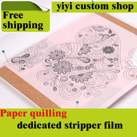 DIY Scrapbooking Paper Quilling Tools Set Curling Coach Rolling Round Ruler Board Pen Tweezers Collection Photo