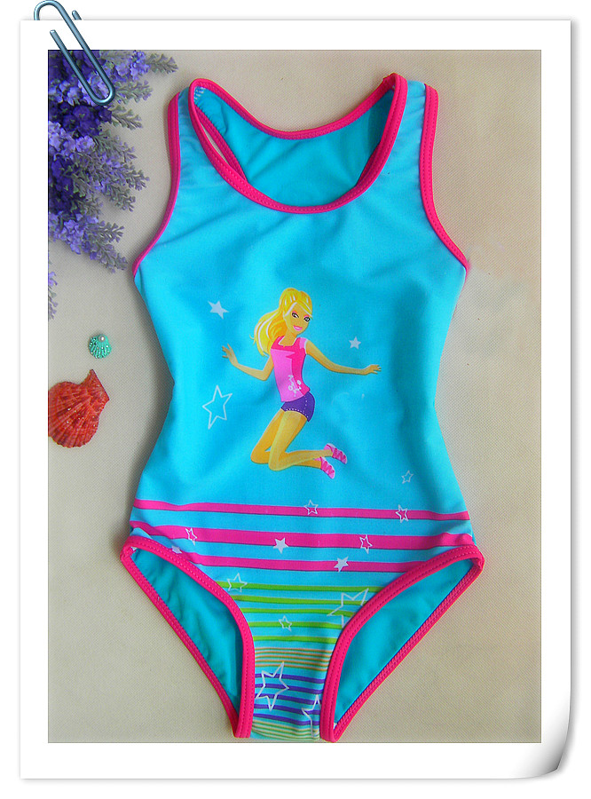 Retail Girls Princess One-Piece Swimsuit for children beach wear bathing suit summer UPF 50+ for 3-8 Year RT111 retail girls prince one piece swimsuit for children beach wear bathing suit summer swimming bathing clothes for 3 10 years rt85