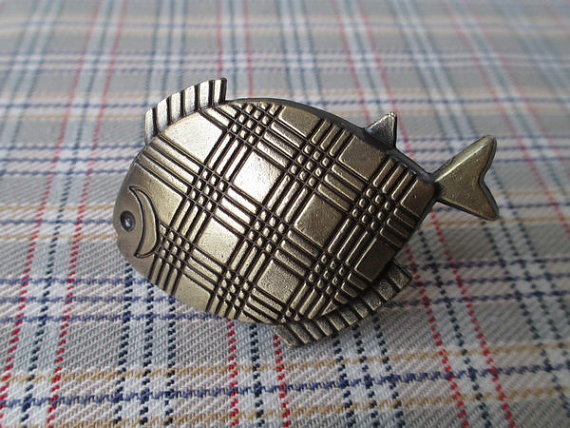 Fish Knobs Nautical Kitchen Cabinet Knobs Pulls Handles Antique Bronze / Dresser Drawer Knobs Vintage Furniture Knob Pull 6 1 3 large drawer handles cabinet handle pulls dresser pulls knobs kitchen door hardware back plate antique silver