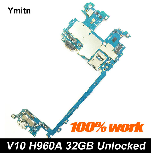 US $72 68 8% OFF|Unlocked Ymitn Mobile Electronic panel mainboard  Motherboard Circuits Flex Cable With Firmware For LG V10 H960A H960 32GB-in  Mobile