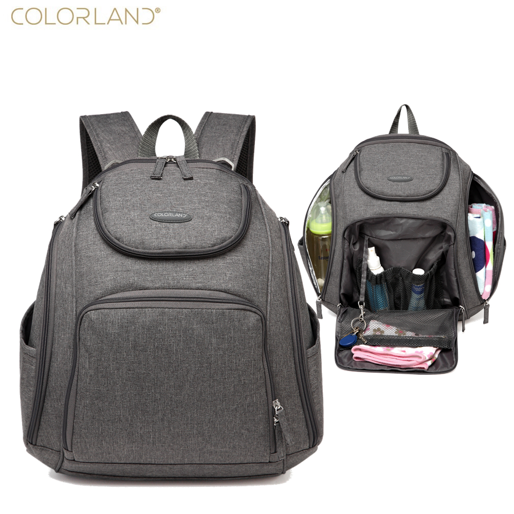 colorland diaper wet bag backpack baby bags mom travel mummy maternity bag organizer fashion. Black Bedroom Furniture Sets. Home Design Ideas