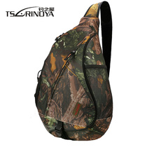 TSURINOYA Large Capacity Shoulder Multifunctional Lure Fishing Bag Canvas Waterproof  Fishing Soft Lure Bag Chest Pack