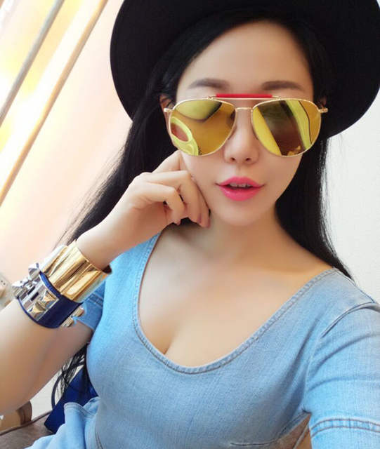 2db80c77a9e Online Shop Fashion design Thom Browne sunglasses with flat lens ...