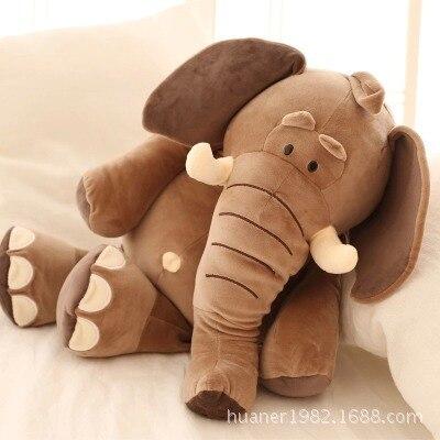 Big size 50cm Infant Soft Appease Elephant Plush toys kid Hold pillow Cartoon dolls 1pcs