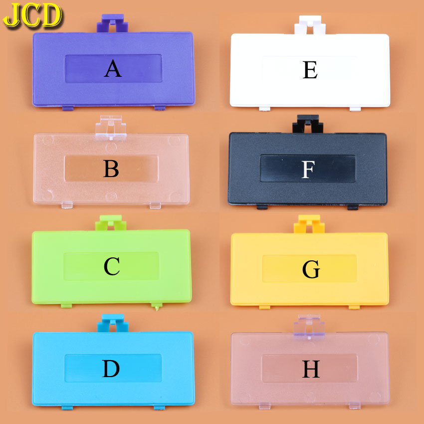 JCD 1pcs For Nintend GameBoy Pocket GBP Console Battery Door Lid Replacement Battery back Cover for GBP-in Cases from Consumer Electronics
