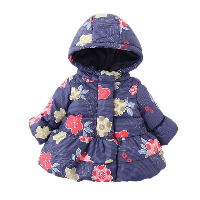 7b688a0ae 532471798 Baby Jacket Winter Girl Coat For Girls CLothes Flower ...