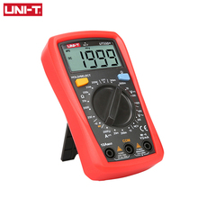 UNI-T UT33D+ Palm Size LCD Auto Digital Multimeters Resistance Mini DMM Meter NCV Voltage Current Capacitance Tester effiency digital lcd meter multimeters voltmet electric voltage tester tool