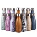 500ML/1000ML stainless steel wine bottle shape thermos bottle travel flask Vacuum bottle for water bottles bowling car kettle