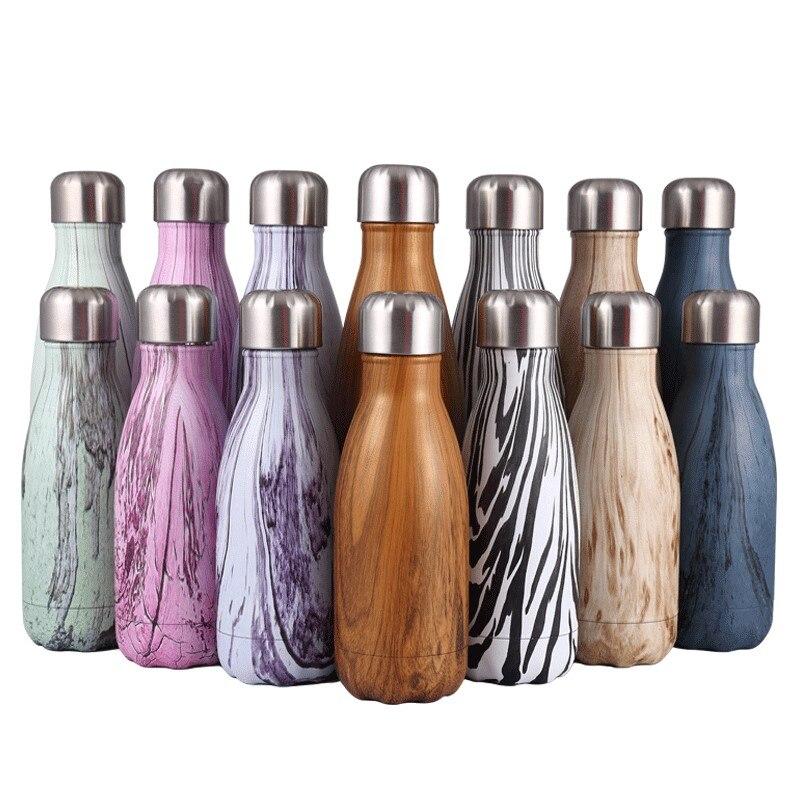 500ML / 1000ML nerūsējošā tērauda vīna pudeles forma termosa - Virtuve, ēdināšana un bārs
