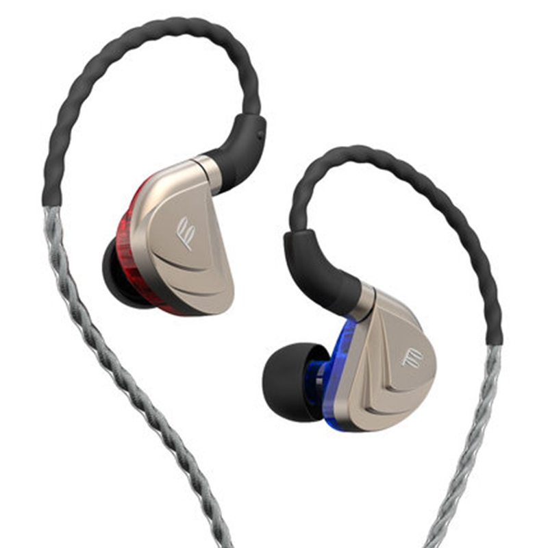 Fidue A83 Dynamic HiFi Hi-End In-Ear Earphone Unique three Unit  with Microphone, Noise isolation earphone 2