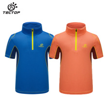 Outdoor Brand Quick-drying T-shirt Outdoor Children uv protection Mountain climbing Camping Sports Absorb sweat Outdoor T-shirt