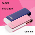 EAGET F50 USB 3.0 100% 32GB USB Flash Drives Fashion Christmas Gift  Usb Stick Pen Drive Free shipping