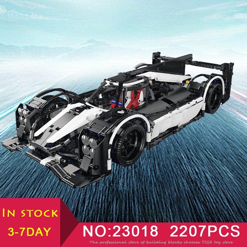 LEPIN 23018 Technic MOC 5530 hybride Super voiture de course 2207 pièces compatible LegoINGlys Set modèle Kits de construction blocs briques