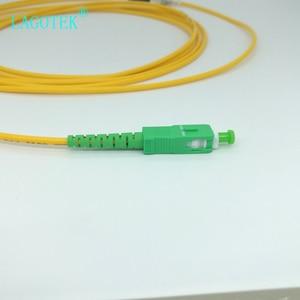 Image 4 - 10 יח\שקית SC APC 3M סימפלקס מצב סיבים אופטי תיקון כבל SC APC 2.0mm או 3.0mm FTTH סיב אופטי כבל מגשר