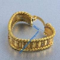 2014 new Earring findings  hoop earring  loop earrings components   wholesale price heart shape