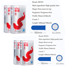 ZIOXX CONDOMS Slim Ultra Thin Condoms For Men Penis Sleeve Safe Contraception Sex Toys Adult Product dropshipping