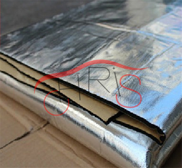 car styling car aluminum foil material sound insulation cotton thermal insulation cotton