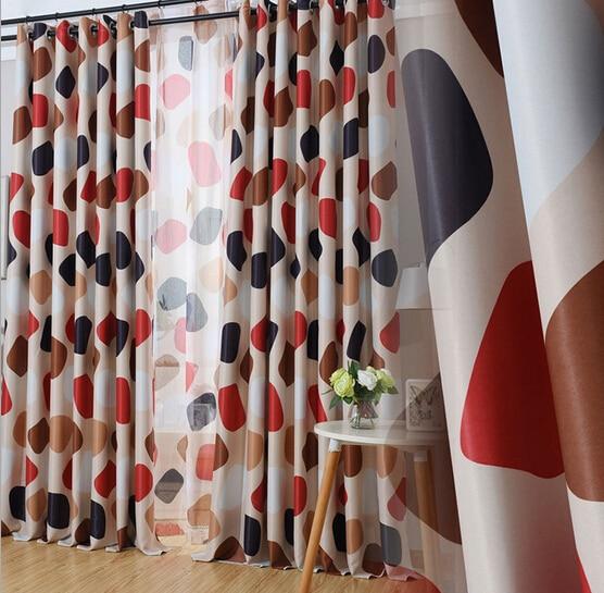 novo hot doublesided printing cortinas blackout moderna casa de luxo tecido jacquard cortinas