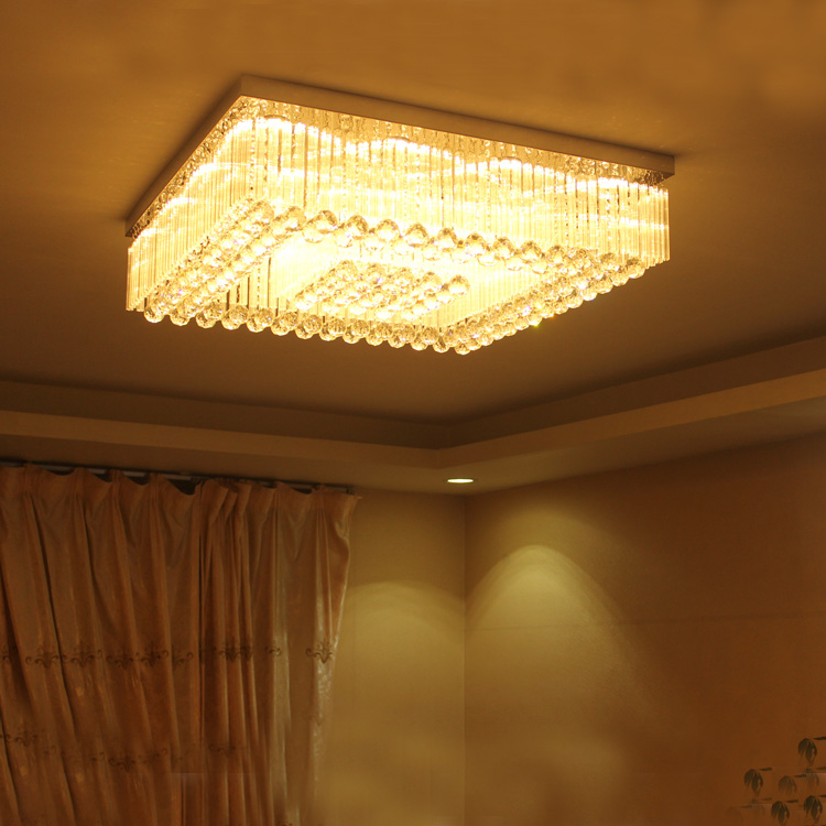 Ceiling Lights Yanghang Chandelier Led Crystal Ring Chandelier Ring Crystal Light Fixture Luster Chandelier Ceiling Led Lighting Circles Lamp