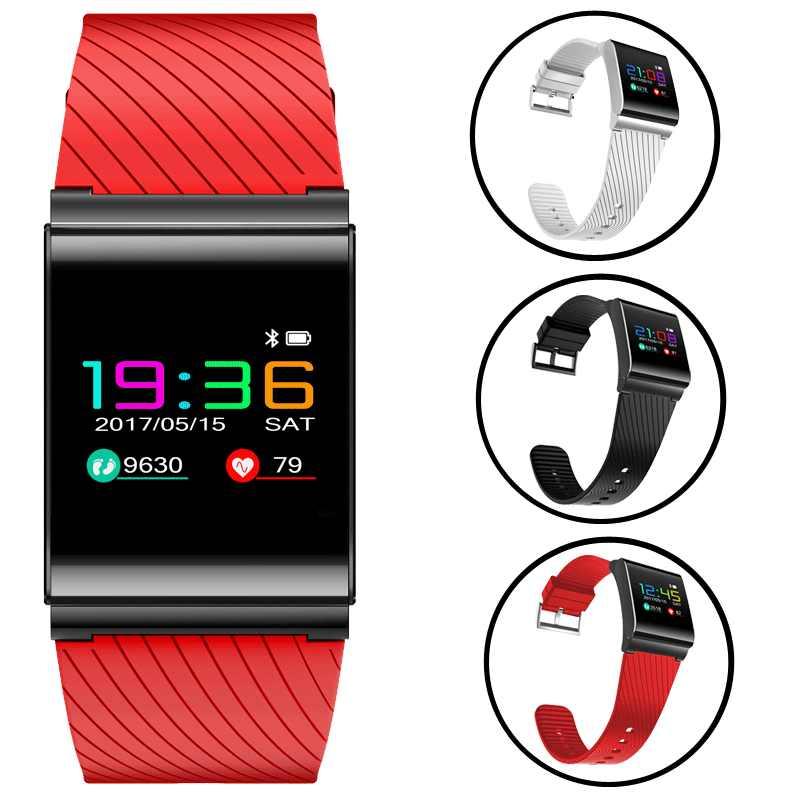 LIGE Модные Смарт-браслет Фитнес трекер Шагомер смс напоминание светодиодный Цвет сенсорный IP67 Водонепроницаемый Смарт-часы для iOS и Android