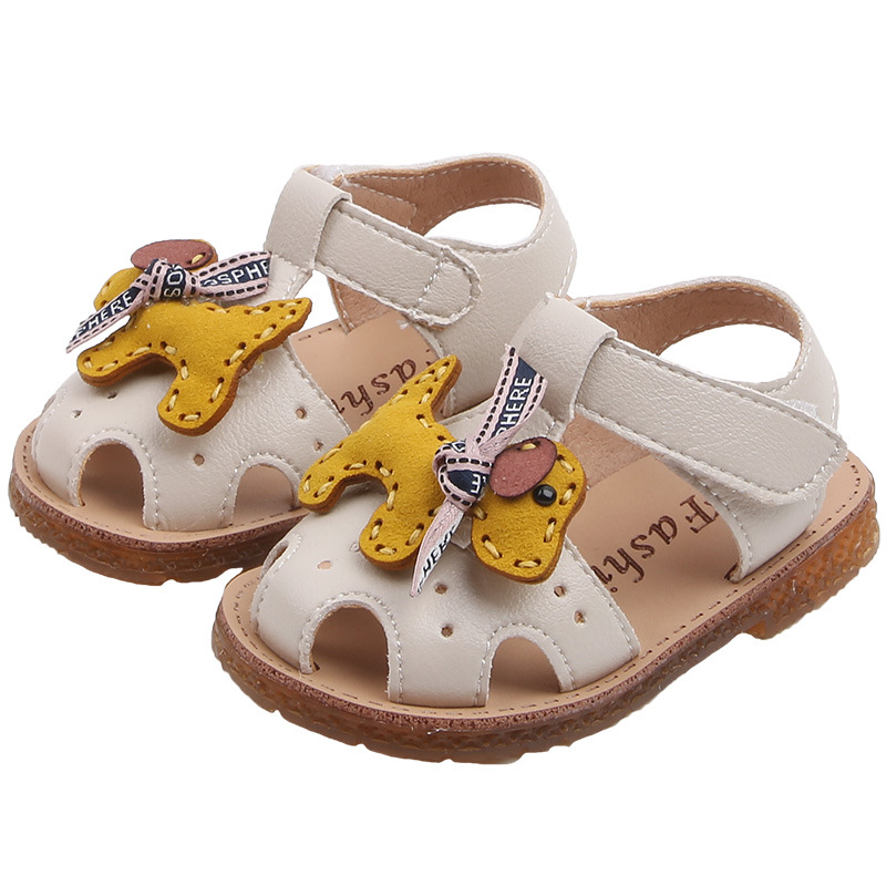 Summer Cartoon Girl Princess Shoe Hollowed Soft Bottom Baby Toddler Shoe 0-1-year-old SandalsSummer Cartoon Girl Princess Shoe Hollowed Soft Bottom Baby Toddler Shoe 0-1-year-old Sandals