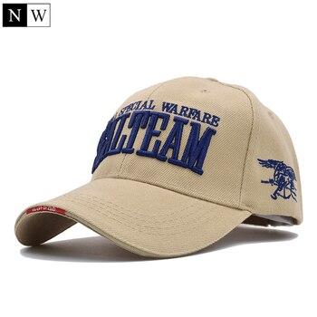 [northwood] new arrivels us navy seal team tactical cap mens army baseball cap brand gorras adjustable bone snapback hat