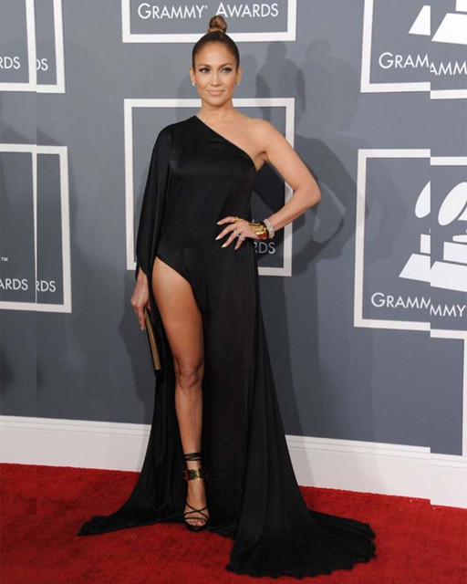 Beyonce Roter Teppich. Grammy Awards One Long Sleeve Abendkleid ...