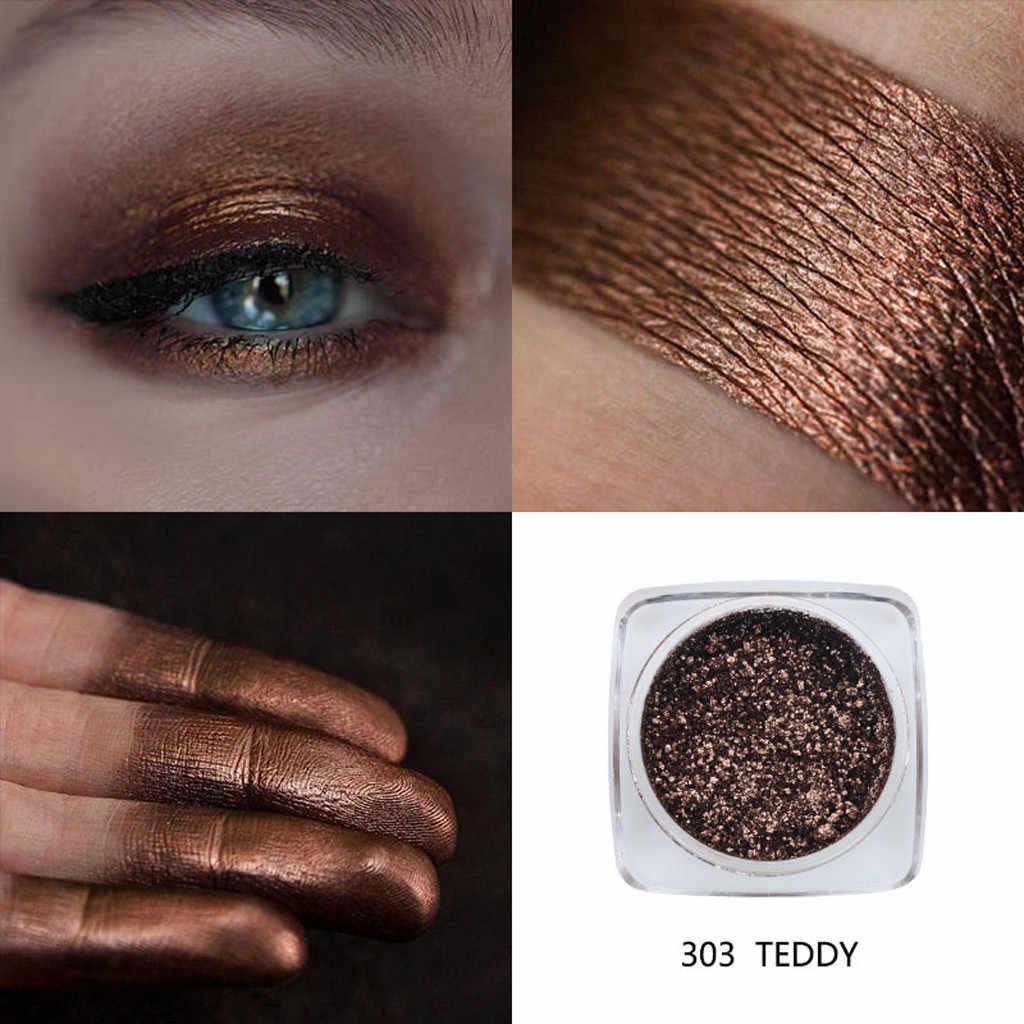 12 Colors Shimmer Eyeshadow Palette Glitter Makeup Powder Waterproof Long Lasting Gold White Blue Eyeshadow Palette #2