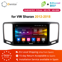 Ownice K1 K2 K3 Android 8.1 Octa Core for VW Volkswagen Sharan 2012 2017 2018 Car Radio DVD 2G/32G Suppport 4G SIM Card DAB+