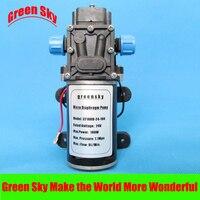 8L/Min DC 100 W 24 V auto wassen, chemische apparatuur, gazon en tuin irrigatie gebruik hoge druk micro membraanwaterpomp