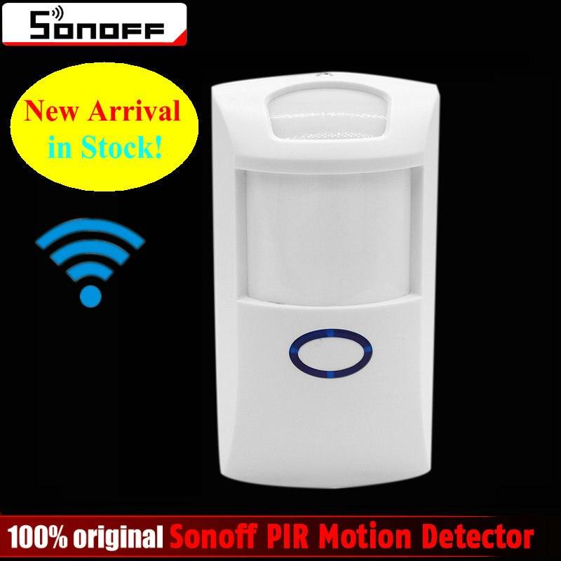 Sonoff PIR PIR2 Sans Fil Double détecteur Infrarouge Motion Sensor smart Domotique Système D'alarme de Sécurité pour Alexa Google Maison