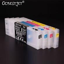 T6142 T6143 T6144 T6148 Пустой многоразового картридж с чипом сброса для Epson Стилусы Pro 4450 принтер 300 мл/уп.